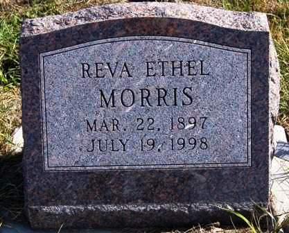MORRIS, REVA ETHEL - Madison County, Iowa | REVA ETHEL MORRIS