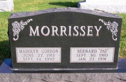 MORRISSEY, BERNARD EUGENE (PAT) - Madison County, Iowa   BERNARD EUGENE (PAT) MORRISSEY