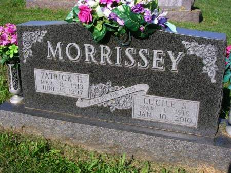 MORRISSEY, LUCILLE S. - Madison County, Iowa | LUCILLE S. MORRISSEY