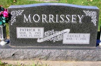 MORRISSEY, PATRICK HENRY - Madison County, Iowa   PATRICK HENRY MORRISSEY