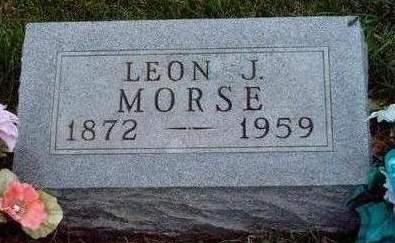 MORSE, LEON JEAN - Madison County, Iowa | LEON JEAN MORSE