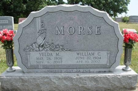 MORSE, WILLIAM CRAIGUE - Madison County, Iowa   WILLIAM CRAIGUE MORSE