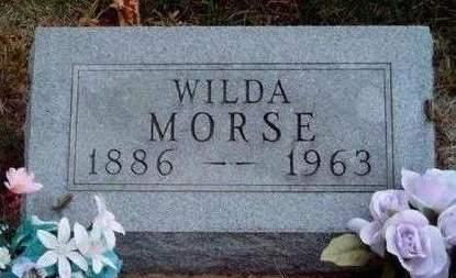 MORSE, WILDA - Madison County, Iowa   WILDA MORSE