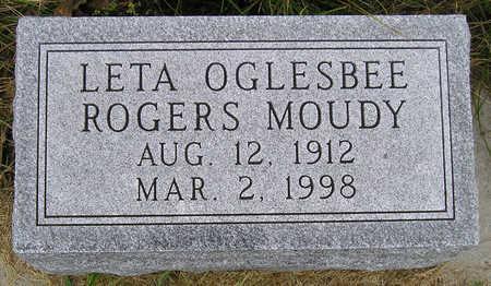 MOUDY, LETA ELIZABETH - Madison County, Iowa | LETA ELIZABETH MOUDY