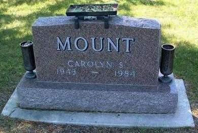 MOUNT, CAROLYN SUE - Madison County, Iowa   CAROLYN SUE MOUNT