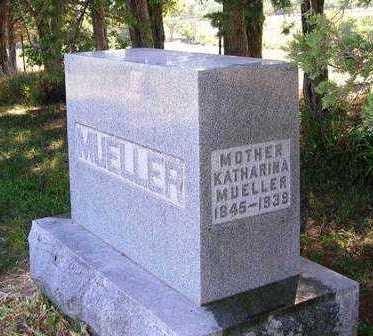 MUELLER, KATHARINA - Madison County, Iowa   KATHARINA MUELLER