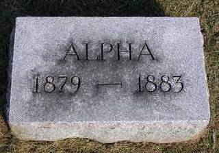 MULLINNIX, ALPHA - Madison County, Iowa | ALPHA MULLINNIX