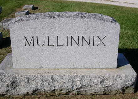 MULLINNIX, FAMILY STONE - Madison County, Iowa | FAMILY STONE MULLINNIX