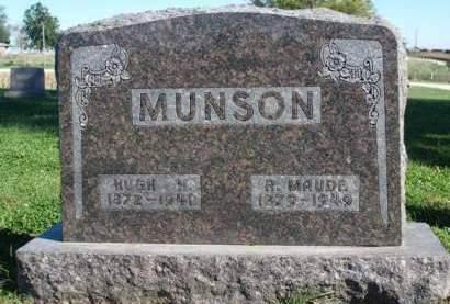 MUNSON, RETTIE MAUDE - Madison County, Iowa | RETTIE MAUDE MUNSON