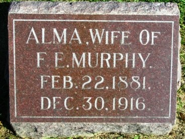 MURPHY, ALMA - Madison County, Iowa | ALMA MURPHY