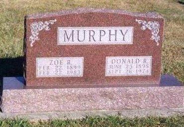 MURPHY, DONALD RIDGEWAY - Madison County, Iowa | DONALD RIDGEWAY MURPHY