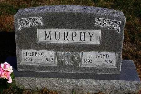 MURPHY, FLORENCE F. - Madison County, Iowa | FLORENCE F. MURPHY