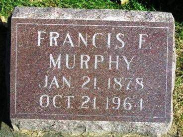 MURPHY, FRANCIS ELWOOD - Madison County, Iowa | FRANCIS ELWOOD MURPHY