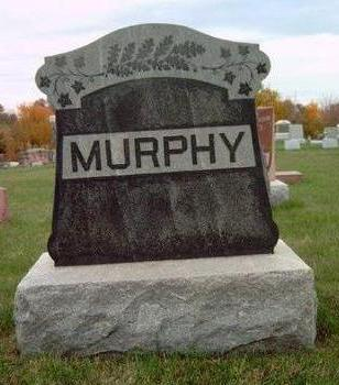 MURPHY, FAMILY STONE - Madison County, Iowa | FAMILY STONE MURPHY