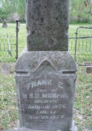 MURPHY, FRANK E. - Madison County, Iowa   FRANK E. MURPHY