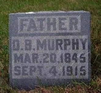 MURPHY, DANIEL BOONE - Madison County, Iowa | DANIEL BOONE MURPHY