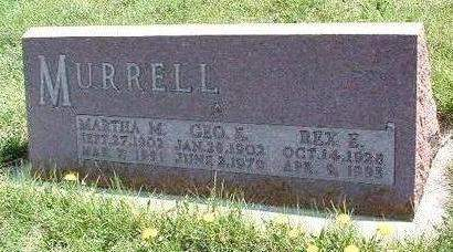 MURRELL, MARTHA M. - Madison County, Iowa | MARTHA M. MURRELL