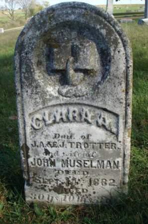 MUSELMAN, CLARA ARKANSAS - Madison County, Iowa | CLARA ARKANSAS MUSELMAN