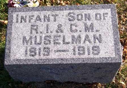 MUSELMAN, INFANT - Madison County, Iowa | INFANT MUSELMAN
