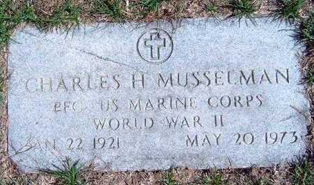 MUSSELMAN, CHARLES HAROLD - Madison County, Iowa   CHARLES HAROLD MUSSELMAN