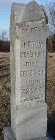 MEYERHOFF, HENRY - Madison County, Iowa | HENRY MEYERHOFF