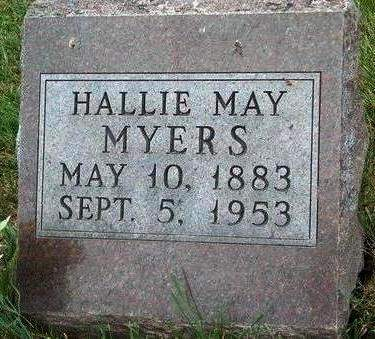 MYERS, HALLIE MAY - Madison County, Iowa | HALLIE MAY MYERS