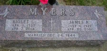 MYERS, VIOLET LORRAINE - Madison County, Iowa | VIOLET LORRAINE MYERS