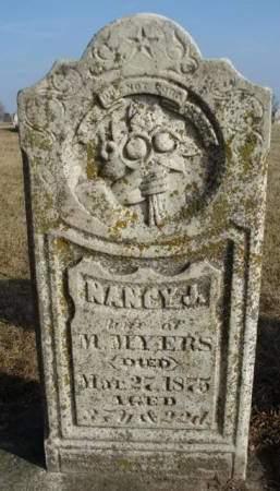 MYERS, NANCY JANE - Madison County, Iowa   NANCY JANE MYERS
