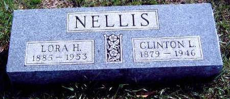 NELLIS, CLINTON LAFAYETTE - Madison County, Iowa | CLINTON LAFAYETTE NELLIS