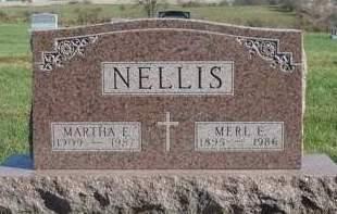 NELLIS, MERL EDWIN - Madison County, Iowa | MERL EDWIN NELLIS