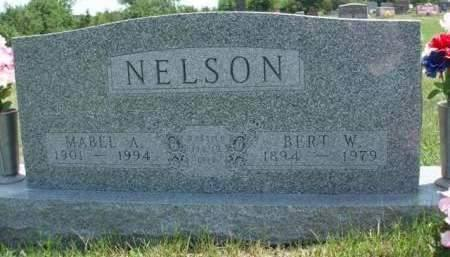 NELSON, MABEL ANN - Madison County, Iowa | MABEL ANN NELSON