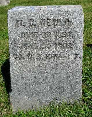 NEWLON, WILLIAM C. - Madison County, Iowa | WILLIAM C. NEWLON