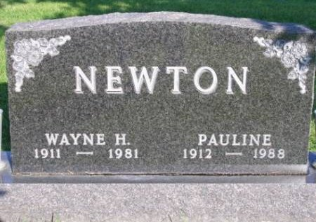 NEWTON, GEORGIA PAULINE - Madison County, Iowa | GEORGIA PAULINE NEWTON