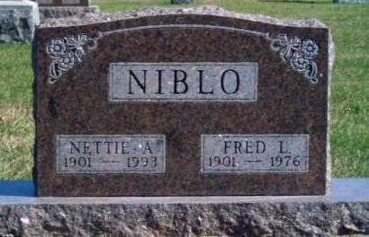 NIBLO, FRED LEMUEL - Madison County, Iowa | FRED LEMUEL NIBLO
