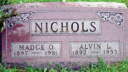 NICHOLS, ALVIN LESTER - Madison County, Iowa | ALVIN LESTER NICHOLS