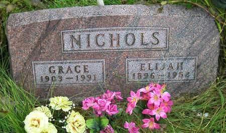 NICHOLS, GRACE IRENE - Madison County, Iowa | GRACE IRENE NICHOLS