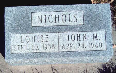 NICHOLS, LOUISE - Madison County, Iowa | LOUISE NICHOLS