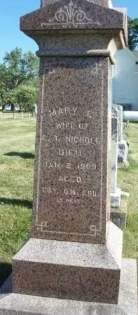 NICHOLS, MARY CATHERINE - Madison County, Iowa | MARY CATHERINE NICHOLS
