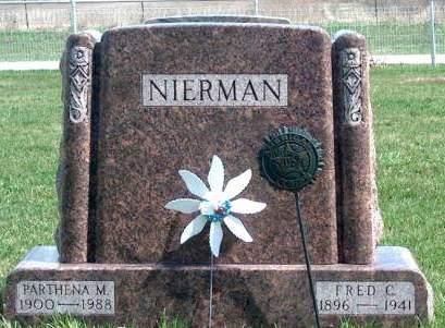 NIERMAN, PARTHENA MELISSA - Madison County, Iowa   PARTHENA MELISSA NIERMAN