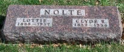 NOLTE, LOTTIE MAY - Madison County, Iowa | LOTTIE MAY NOLTE