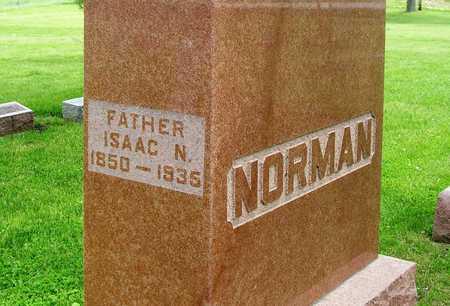 NORMAN, ISAAC NEWTON - Madison County, Iowa   ISAAC NEWTON NORMAN