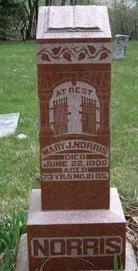 NORRIS, MARY JANE - Madison County, Iowa   MARY JANE NORRIS