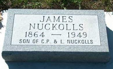 NUCKOLLS, JAMES LEWIS - Madison County, Iowa   JAMES LEWIS NUCKOLLS