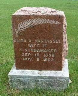 VANTASSEL NUNNAMAKER, ELIZA A. - Madison County, Iowa | ELIZA A. VANTASSEL NUNNAMAKER