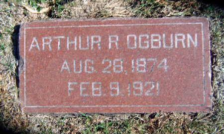 OGBURN, ARTHUR ROY - Madison County, Iowa | ARTHUR ROY OGBURN