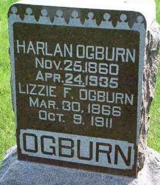 OGBURN, HARLAN - Madison County, Iowa   HARLAN OGBURN