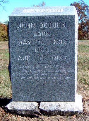 OGBURN, JOHN - Madison County, Iowa | JOHN OGBURN