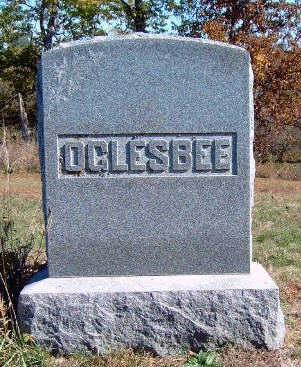 OGLESBEE, FAMILY STONE - Madison County, Iowa | FAMILY STONE OGLESBEE