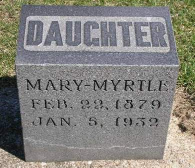 KIRK, MARY MYRTLE - Madison County, Iowa | MARY MYRTLE KIRK