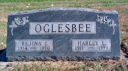 OGLESBEE, HARLEY LESTER - Madison County, Iowa   HARLEY LESTER OGLESBEE